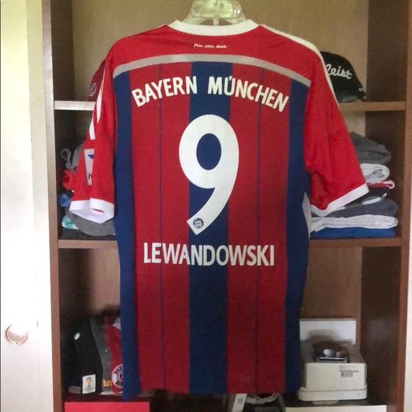 1bf603e76 adidas Other - Bayern Munich Lewandowski 14 15 Home Jersey